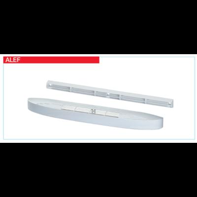 ALEF 30 - ablakkeretbe építhető légbevezető elem
