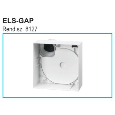 ELS-GAP - falon kívüli ventilátorház ELS típushoz