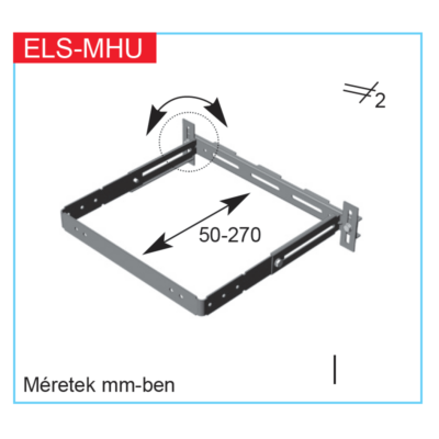 ELS-MHU- univerzális szerelőkonzol