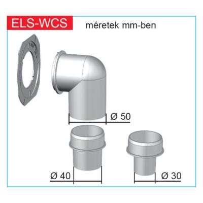 ELS-WCS - WC csatlakozó készlet